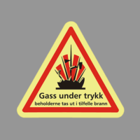 • Skilt - gass