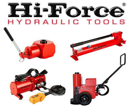 Nå leverer vi Hi-FORCE produkter!