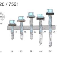TOPEX-PISTA PLATESKRUE SS 7520/7521