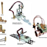 Krabbemaskiner og utstyr